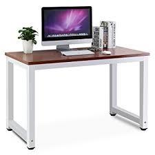 Sturdy Computer Desk Tribesigns Modern Computer Desk 47 Office Desk