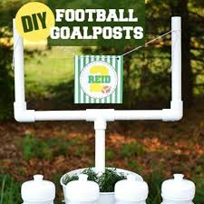 football themed baby shower diy football goal post kid friendly bridal showers bird themed