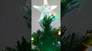 2017 green led fibre optic xmas tree 3 4 u0026 5ft night youtube
