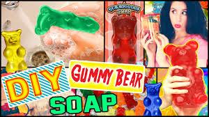 Gummy Bear Decorations Diy Gummy Bear Soap Possible Room Decor Make Soap Into Gummy