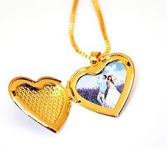 elegant heart necklace images Buy 18k gold plated elegant heart shape perfume cotton photo jpg