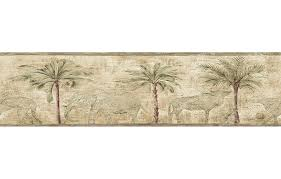 wallpaper borders bathroom ideas green wallpaper borders for bathrooms palm trees paintable