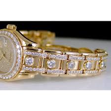 bracelet rolex images Rolex datejust pearlmaster gold pleade diamond 80298 watch chest jpg