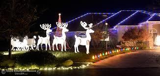 Deer Christmas Lights Photos Tour Of Lights Chico Ca Chico Enterprise Record Media Center