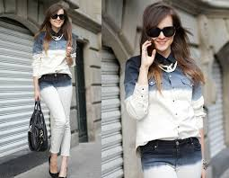 What To Wear With Light Jeans Double Denim How To Wear It Guide The Jeans Blog
