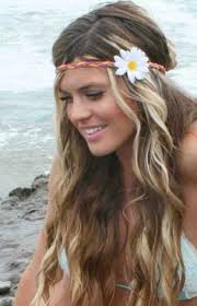 hippie bands i want this hair hair half updo hair style and updo