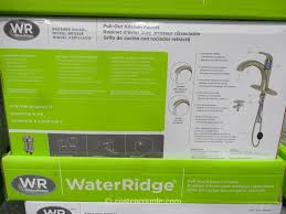 water ridge kitchen faucet manual water ridge pull out kitchen faucet