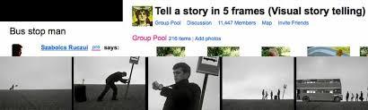 five frame 50 ways flickr five frame stories