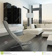 meubles modernes design intérieur blanc de luxe de salon avec les meubles modernes photo