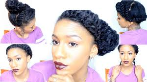 short natural hair protective styles quick flat twists youtube