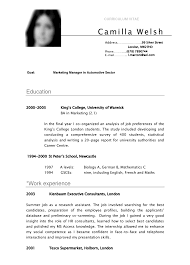 academic resume template for college student resume sle students sles template curriculum vitae
