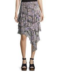cotton skirt etoile marant jeezon floral knit cotton skirt