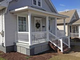 Wooden Front Stairs Design Ideas Front Porch Fetching Design For Front Porch Decoration With White