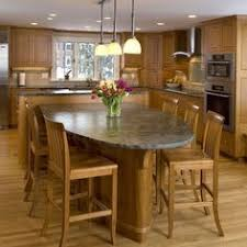 How To Design A Kitchen Island With Seating by From The Rounded End Of The Island Great Seating Area