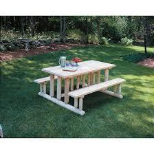 Log Outdoor Furniture by Rustic Natural Cedar Furniture Company Cedar Log Park Picnic