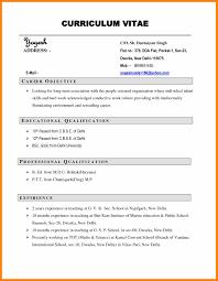 preparing cv resume curriculum vitae exle pdf free cv template curriculum