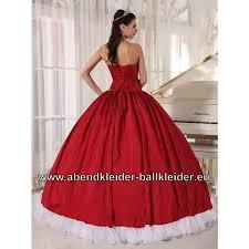 brautkleider rot weiãÿ klassisches brautkleid abendkleid ballkleid in rot weiss