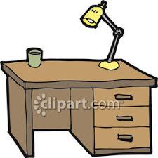 clipart bureau desk with a l royalty free clipart picture
