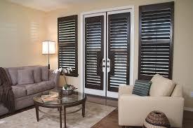 Wooden Interior French Door Shutters For Wooden Interior Patio Doors Uk