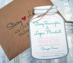 jar wedding invitations jar wedding invitations endearing jar wedding