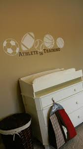 Sports Wall Decals For Nursery by Forever Decorating Sports Theme Nursery