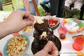 faire une fontaine cuisine fontaine à chocolat ciloubidouille