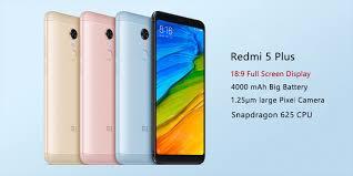 Xiaomi Redmi 5 Plus Xiaomi Redmi 5 Plus Black Blue Gold Gold 3gb 4gb Ram 32gb