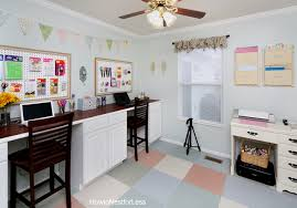 Craft Room Cabinets Craft Room Desk Tutorial How To Nest For Less