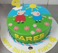 peppa pig cake peppa pig cake 12
