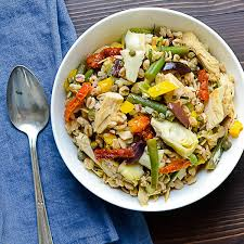 cuisine nicoise nicoise farro salad garlic zest