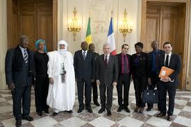 si e de l assembl nationale réception de m younoussi touré président de l assemblée nationale