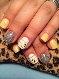95 best yellow nails images on pinterest yellow nail art art