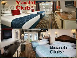 what u0027s the difference between disney u0027s beach club and yacht club