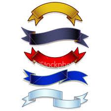 logo ribbon ribbon 3