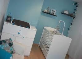 chambre bébé garçon bleu et gris une chambre bebe bleu gris lit chene deco enfant garcon idée déco