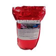 volcanic rock dust 2 4 5 u0026 20 kg size trace mineral fertiliser