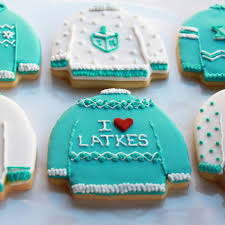 hanukkah cookies bakeshop philadelphia deluxe hanukkah sweater cookie