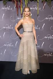 Jennifer Lawrence Home by Jennifer Lawrence Wears Sultry Silver Gown At Paris Mother