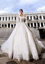 modern wonderful ball gown v neck beading appliques cathedral