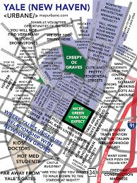Usa Campus Map by Yale University Map Urbane Maps Pinterest