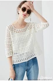 crochet blouses crochetemoda crochet and crochet clothes