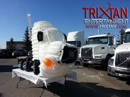 volvo semi truck models balloon decor calgary edmonton alberta saskatchewan