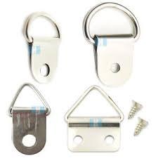 frame hanger d ring triangle shape picture bracket frame hanger hook clip strap