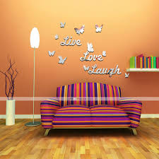 please take one sticker label sourceone wall idolza funlife live love laugh diy 3d english butterfly stickers photos design your own furniture online