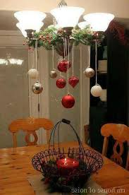 Christmas Decoration For Chandelier by 80 Christmas Home Decorating Ideas To Bag Complements Entire