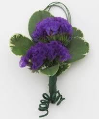Royal Blue Boutonniere Royal Blue Delphinium Boutonniere
