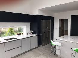 Kitchen Design Liverpool Schuller Next 125 Glassline German Kitchen In Nx902 Indigo Blue
