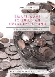 10 smart ways to build an emergency fund financial management