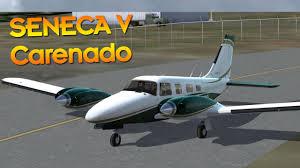 carenado pa34 seneca v first look prepar3d v2 2 youtube