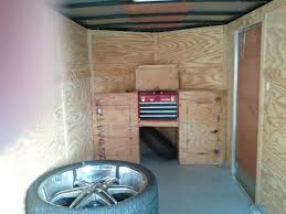 V Nose Enclosed Trailer Cabinets by Trailer Ideas Page 2